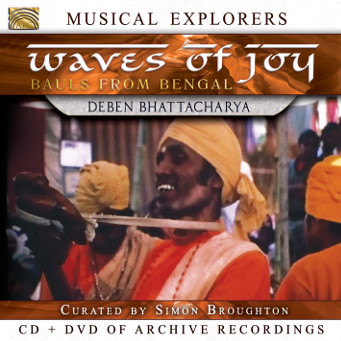 Waves of Joy/Bauls from Bengal - CD Cover.