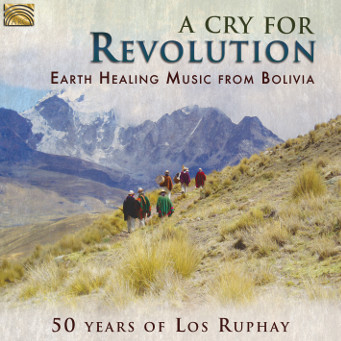 A Cry For Revolution - CD Cover.
