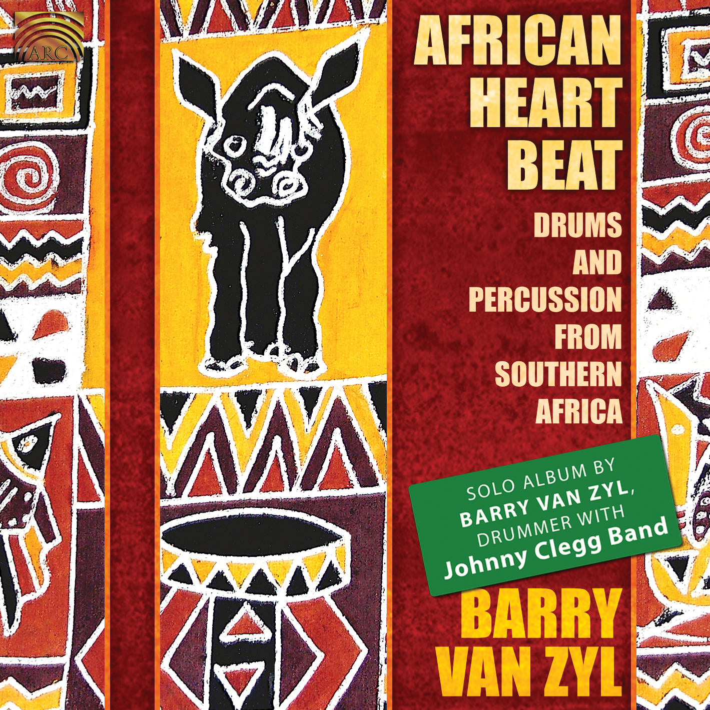 EUCD2144 African Heartbeat - Drums and Percussion from Southern Africa