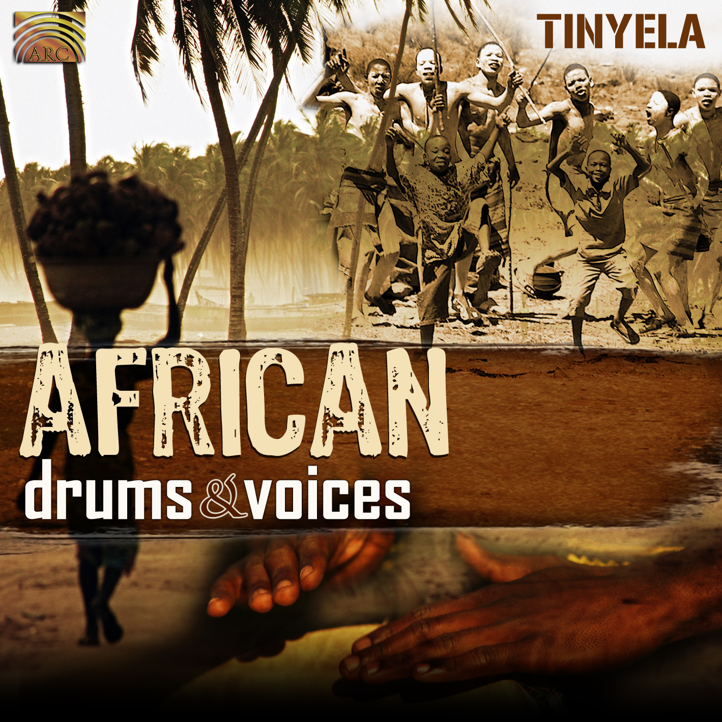 EUCD2297 African Drums & Voices