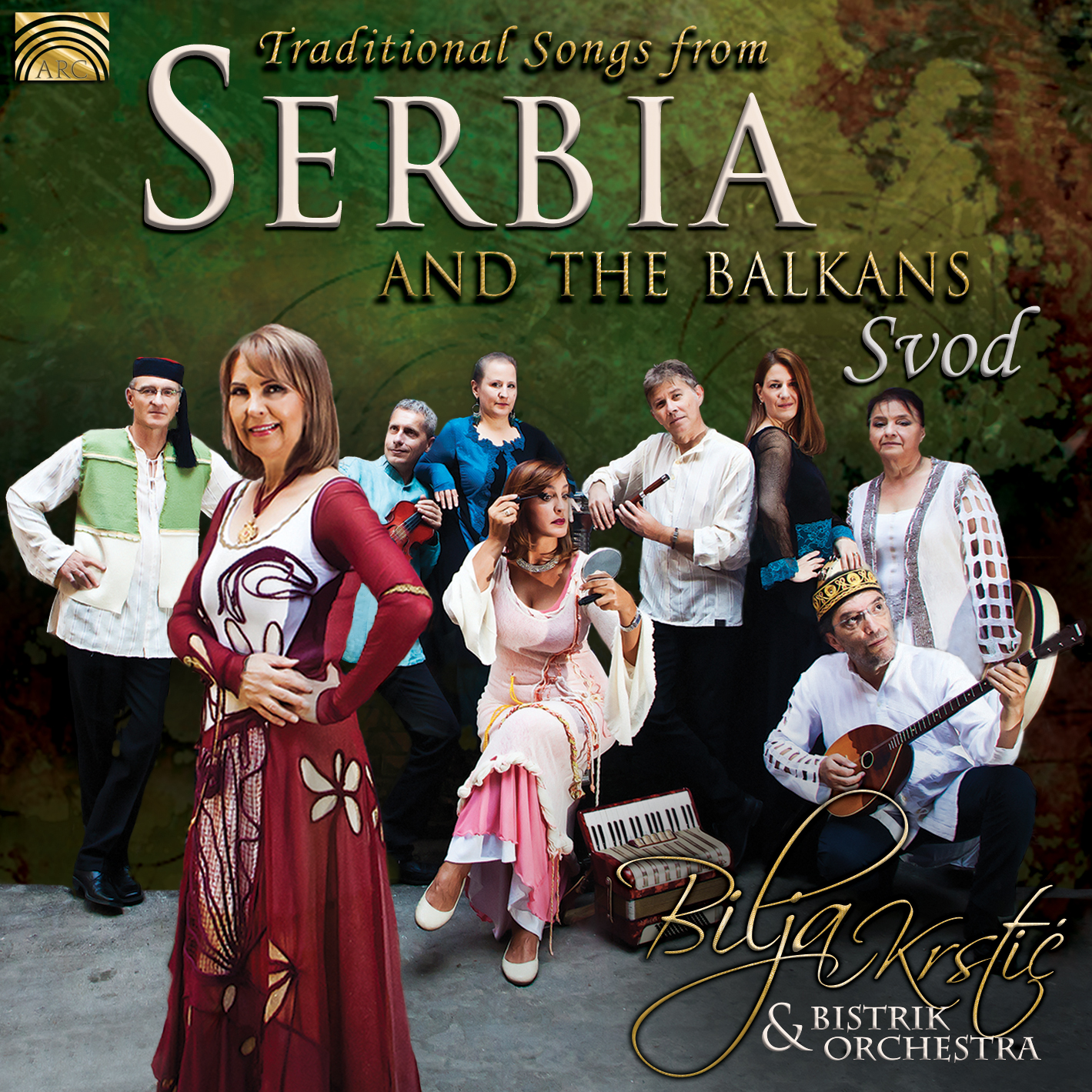 EUCD2687 Traditional Songs from Serbia and the Balkans - Svod