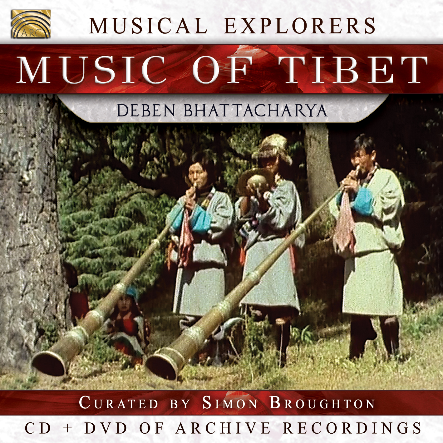 EUCD2758 Musical Explorers - Music of Tibet