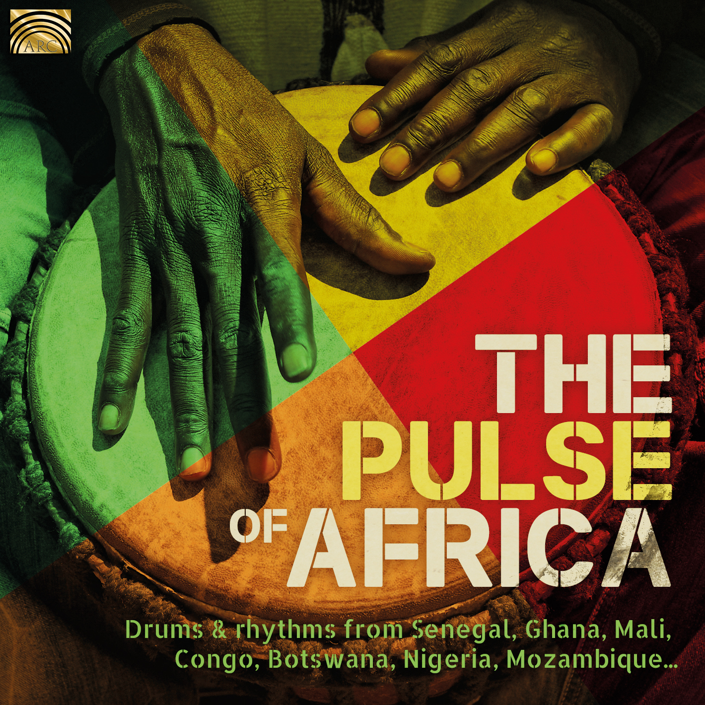 EUCD2837 The Pulse of Africa