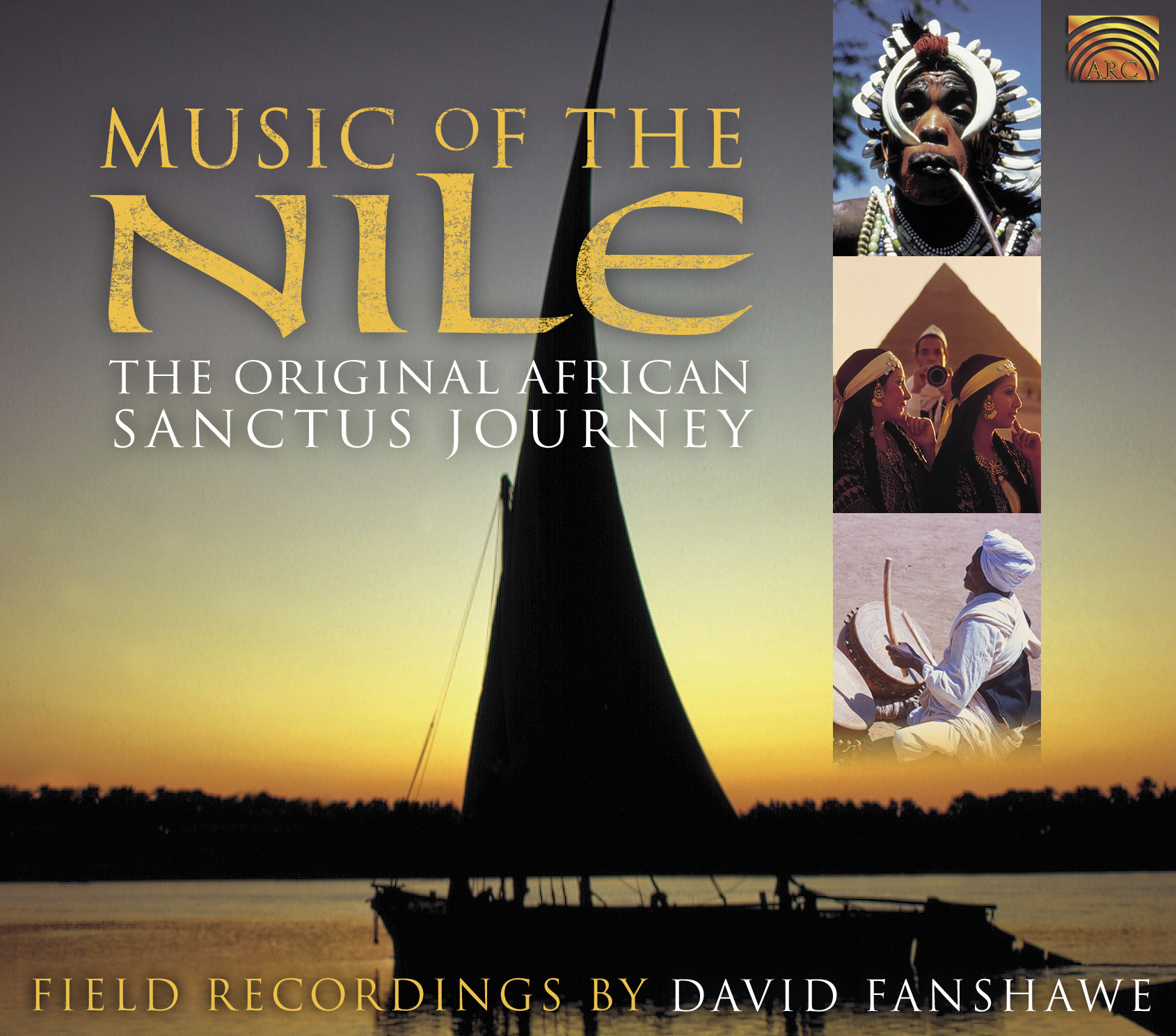 EUCD1793 Music of the Nile - Recordings by David Fanshawe