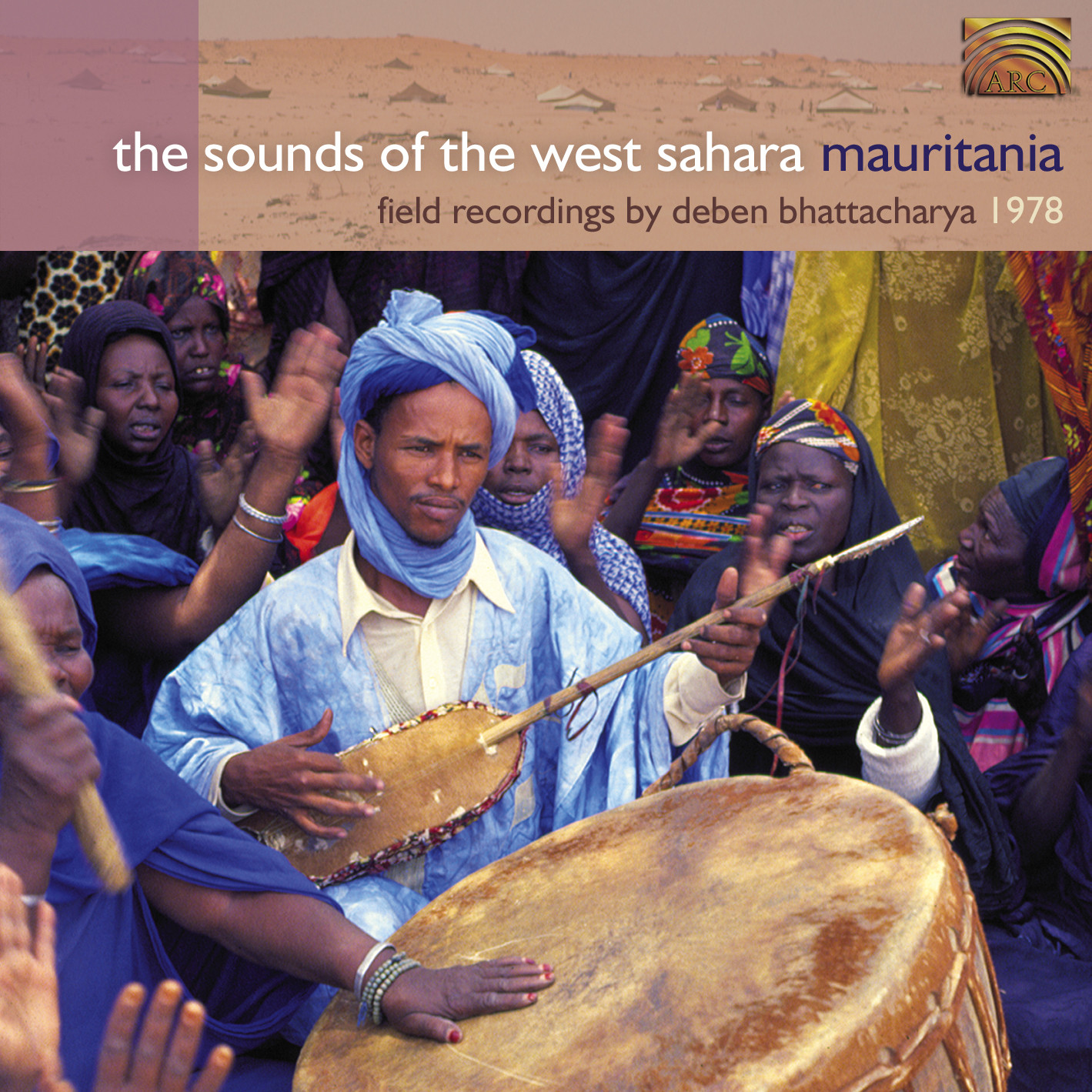 EUCD1870 Sounds of the West Sahara - Mauritania - Field recordings by Deben Bhattacharya