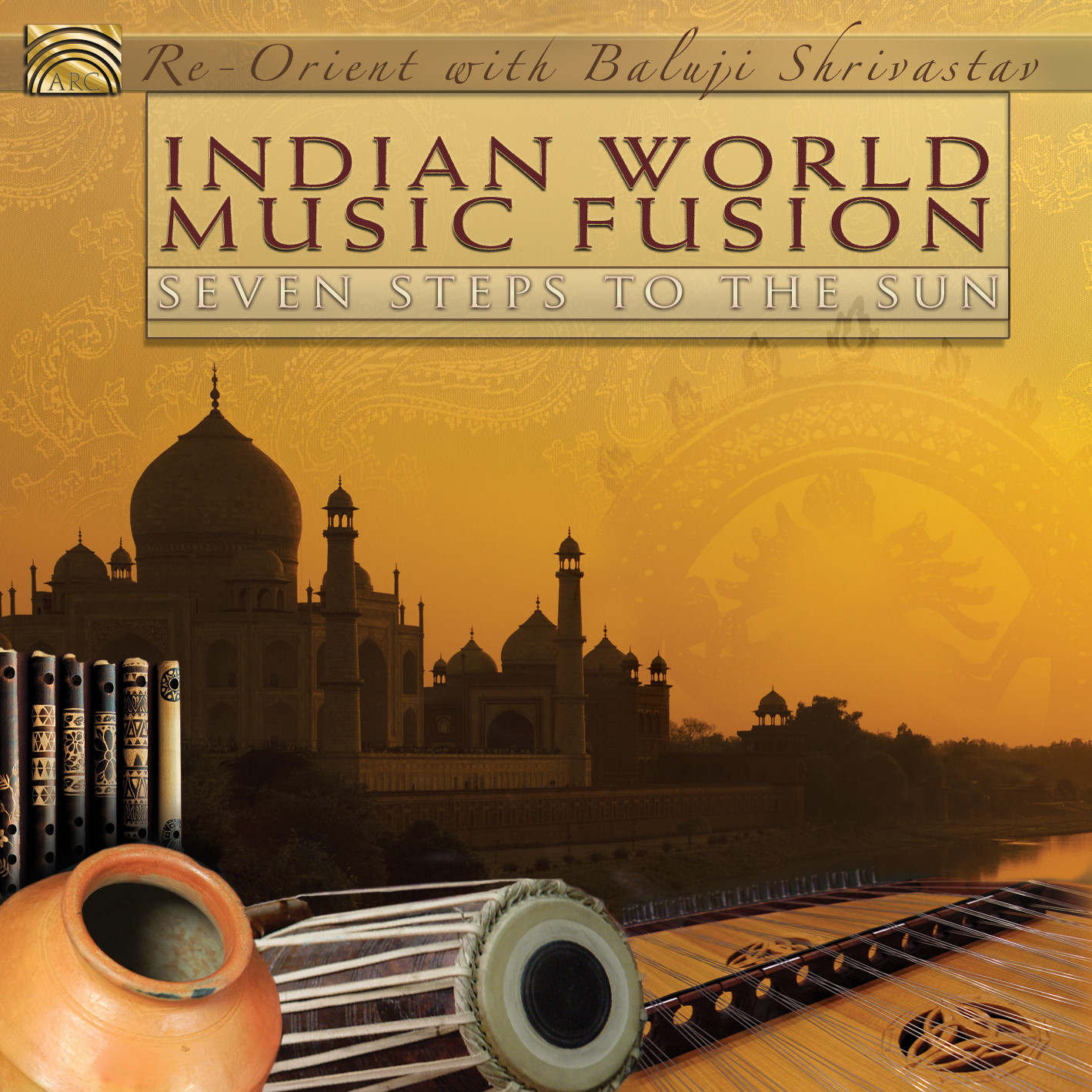 EUCD2412 Indian World Music Fusion - Seven Steps to the Sun