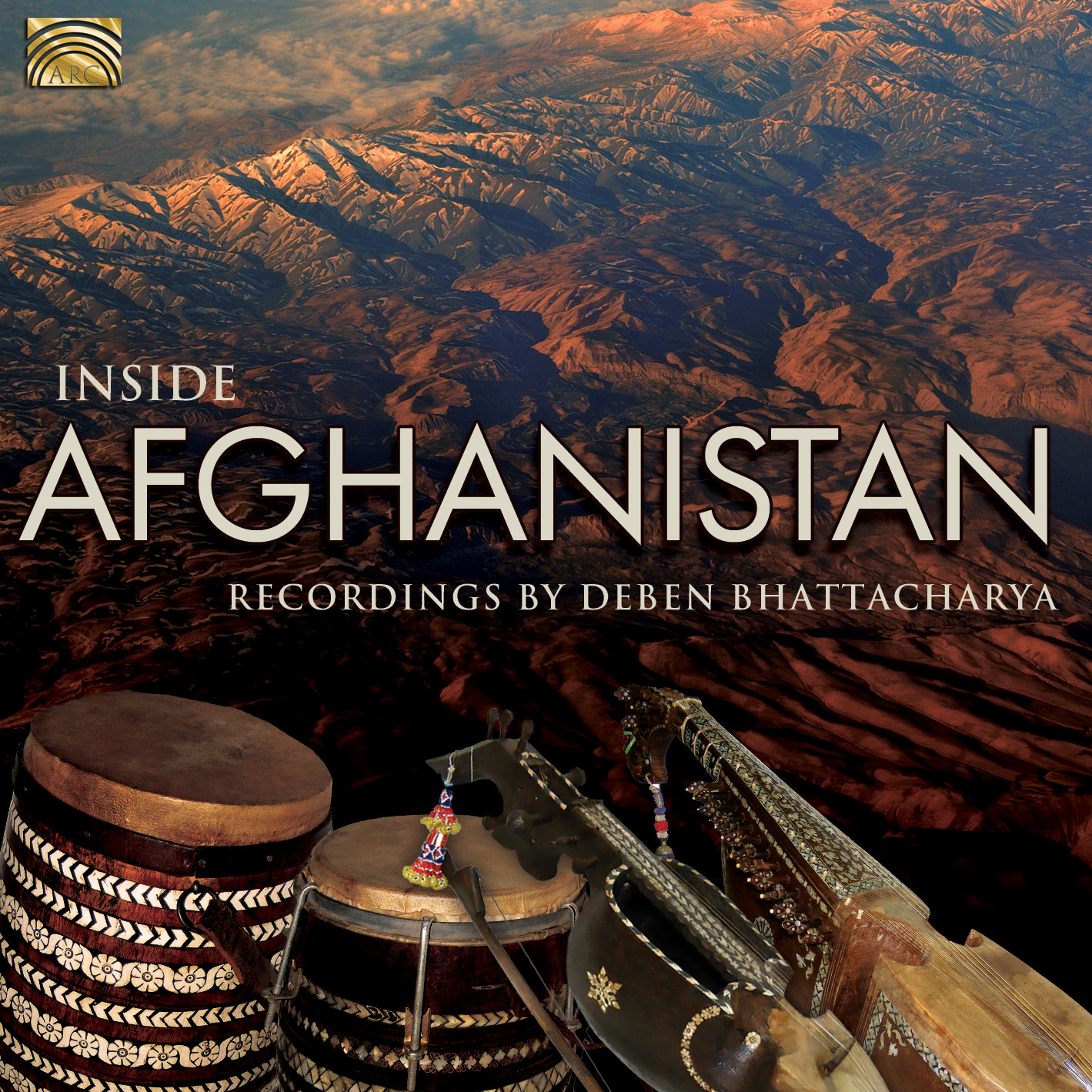 EUCD2486 Inside Afghanistan - Recordings by Deben Bhattacharya