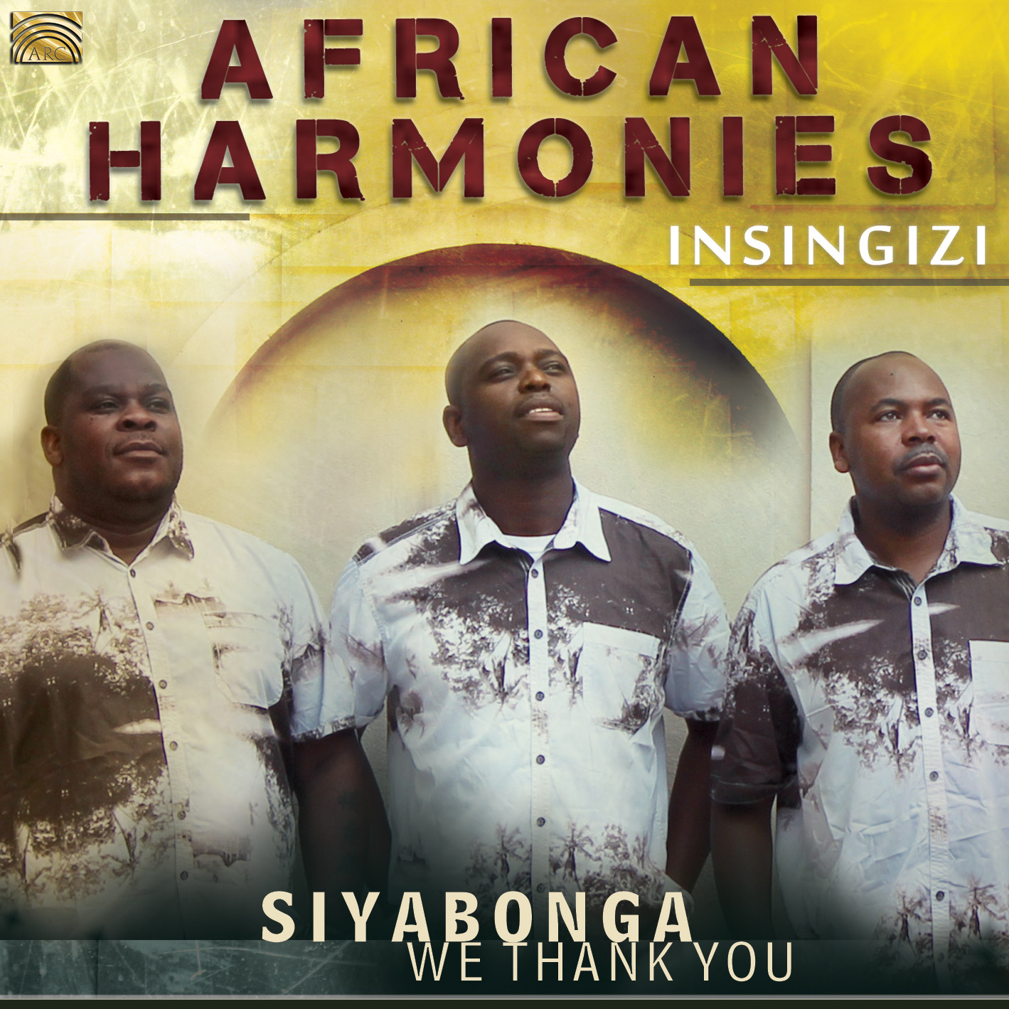 EUCD2607 African Harmonies - Siyabonga - We Thank You