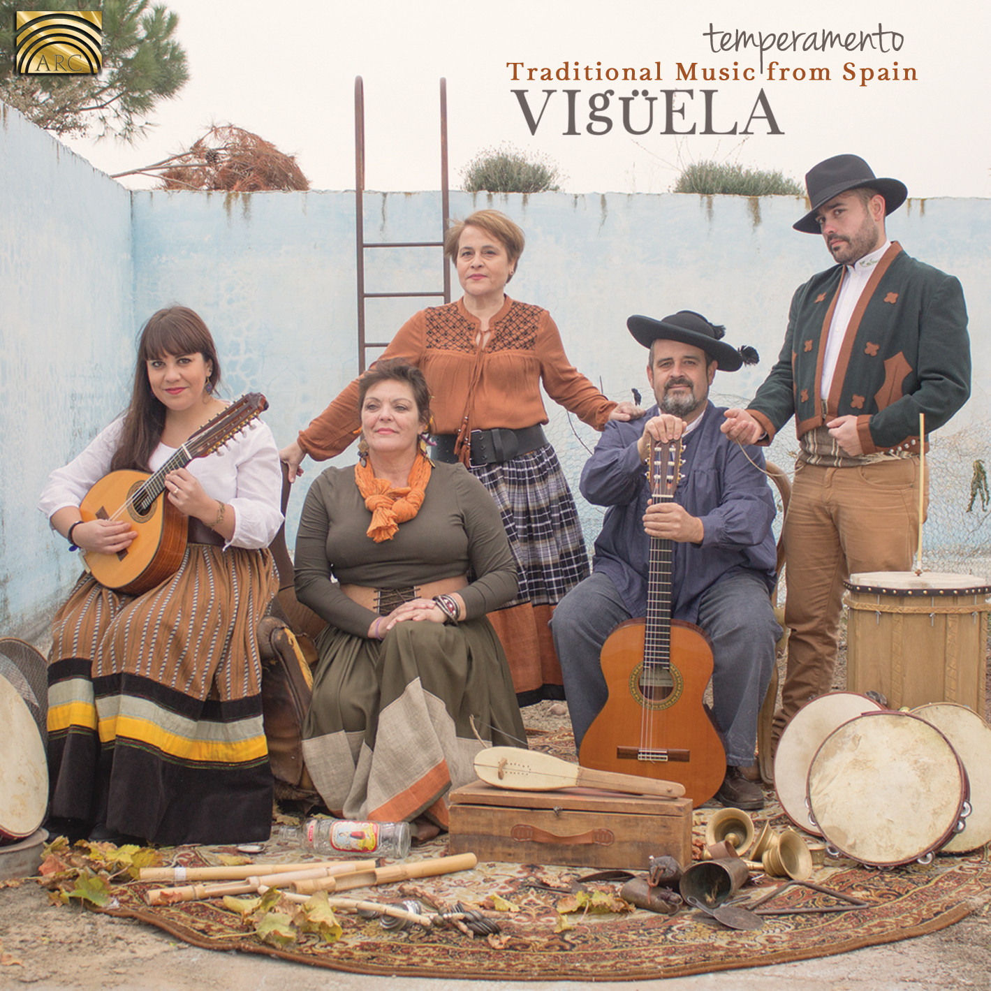EUCD2635 Temperamento - Traditional Music from Spain