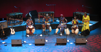 Authentic African performance from the Dizu Plaatjies Ibuyambo Ensemble image