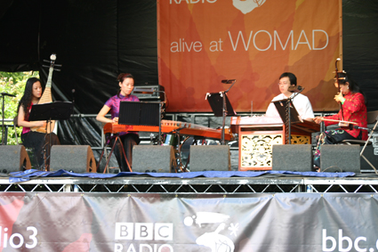 Silk String Quartet at WOMAD